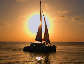Barbados catamran sunset cruise
